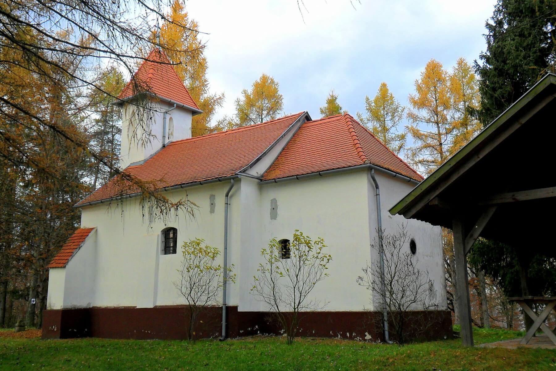 Mároki kápolna - Iklódbördőce