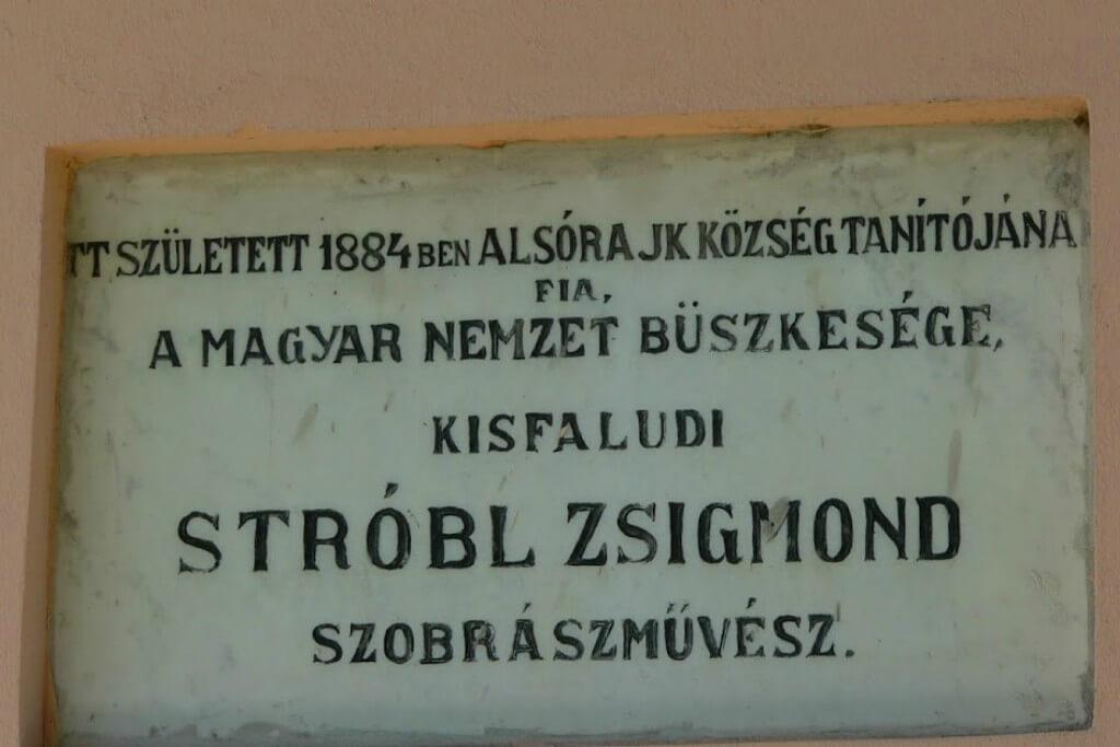 Kisfaludi Strobl Zsigmond emlékszoba