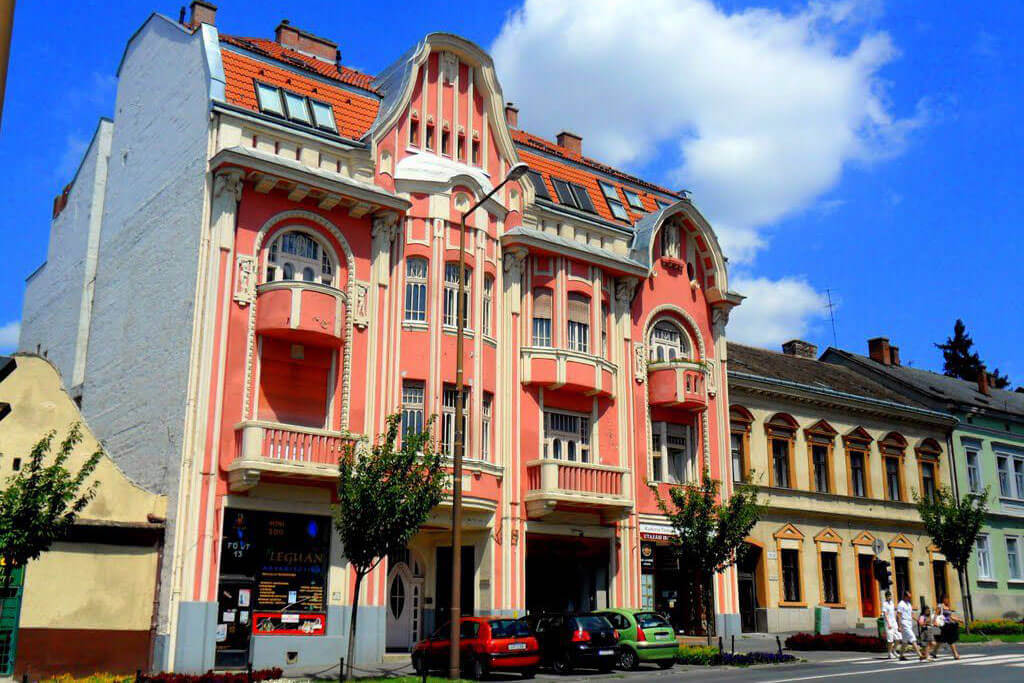 Bogenrieder palota - Nagykanizsa